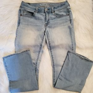 American Eagle Kick Boot Jeans Size Reg 8